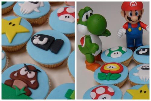 #mariobros #cupcakes