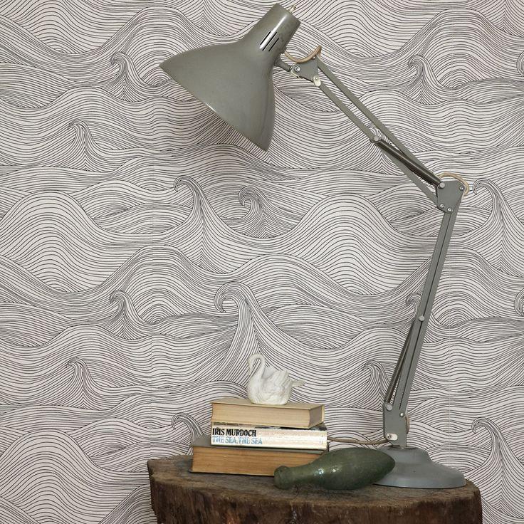 Abigail Edwards seascape wallpaper: Interior, Idea, Seascape Wallpaper, Wallpapers, House, Design, Abigailedwards