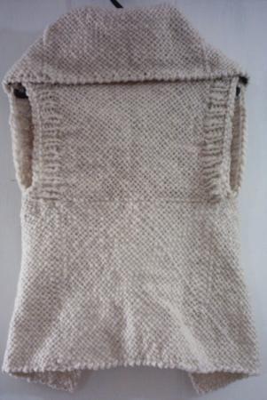 Chaleco formal en lana de oveja - artesanum com