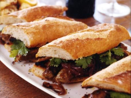 Grilled Merguez Sandwiches with Caramelized Red Onions | EAT ...