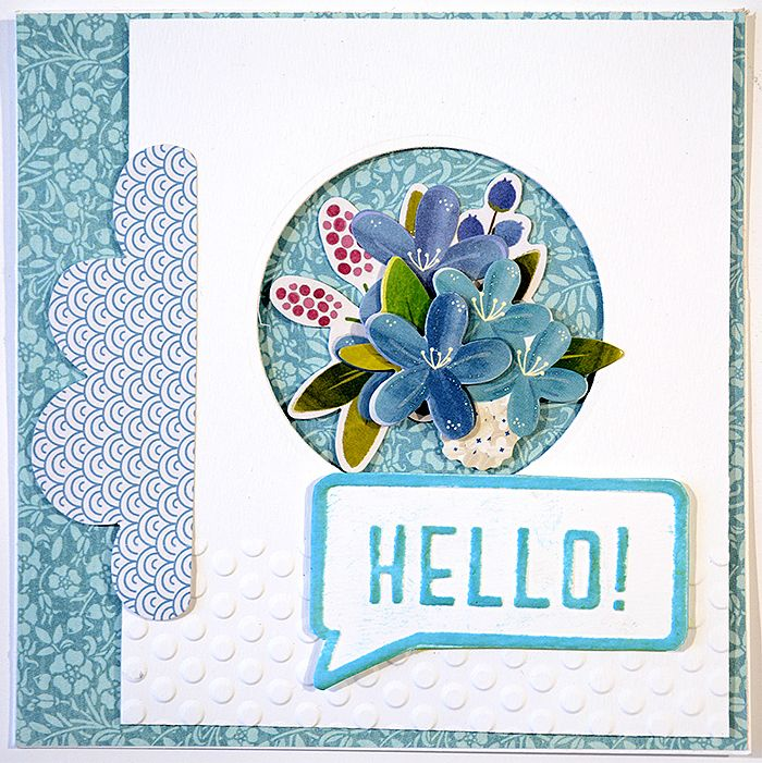 A simple summer card - by Helens Color Life