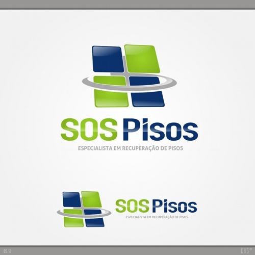 Arte Campeã Do Projeto SOS Pisos #logovia #logodesign #logomarca. LogoHomes Part 82