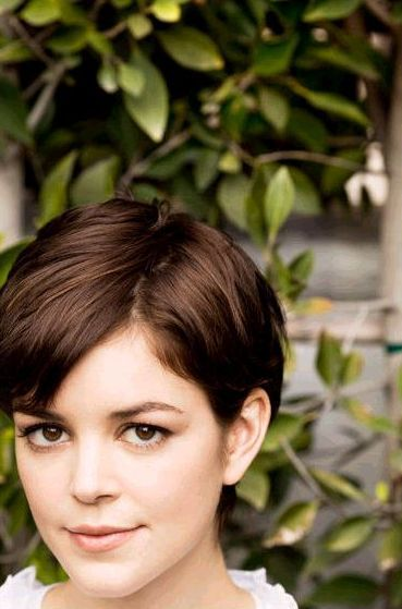 Nora Zehetner - not the cut but like the color!
