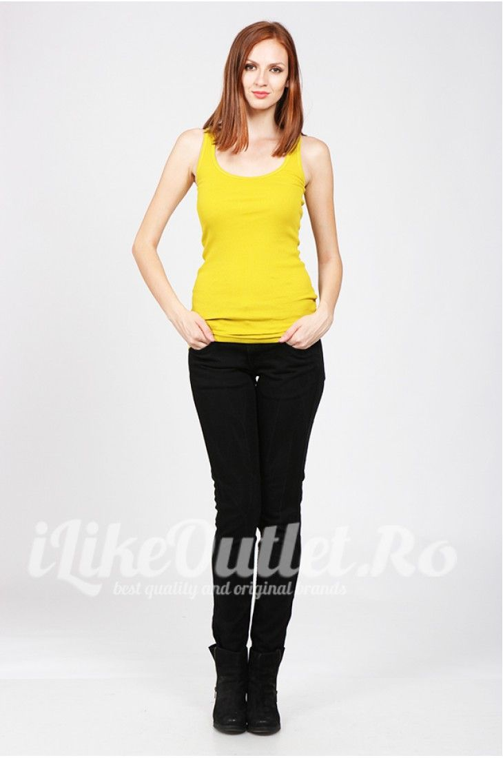 Yellow cool top- TOM TAILOR