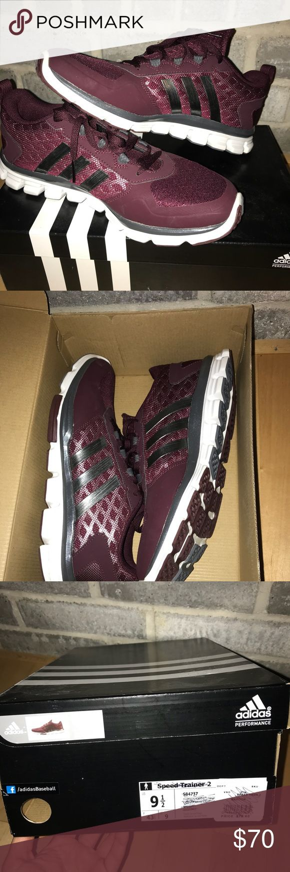 Adidas Speed Trainer 2 Never worn. Perfect condition. These were givin to me by Texas a&m head coach Kevin Sumlin. All the football players wore these shoes at the time. adidas Shoes Sneakers