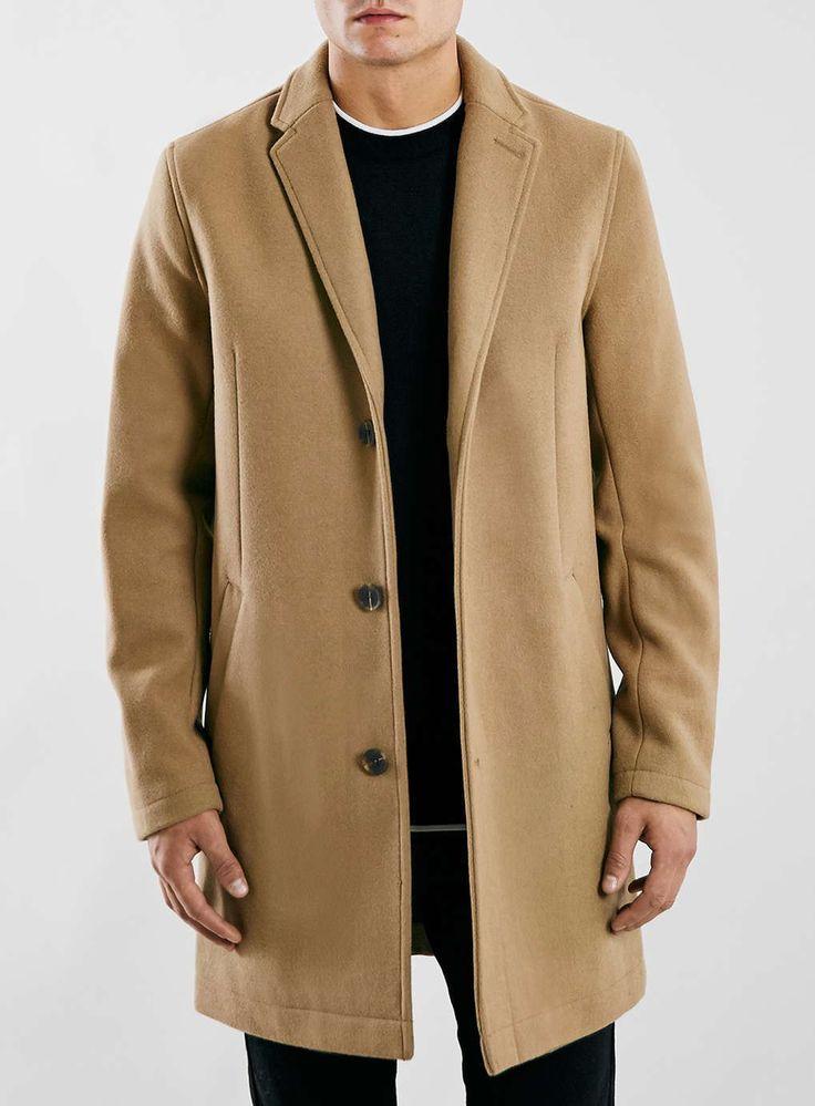 Camel Wool Blend Overcoat
