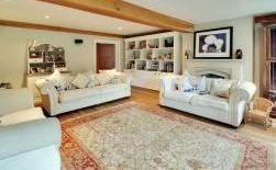 Crowbourne Grange - family living space & reading room