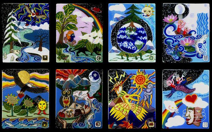 4 Directions & 4 Elements 1994