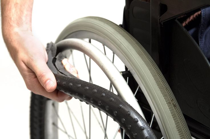 New Wheelchair Push Rim In Black Available In Pink Too
