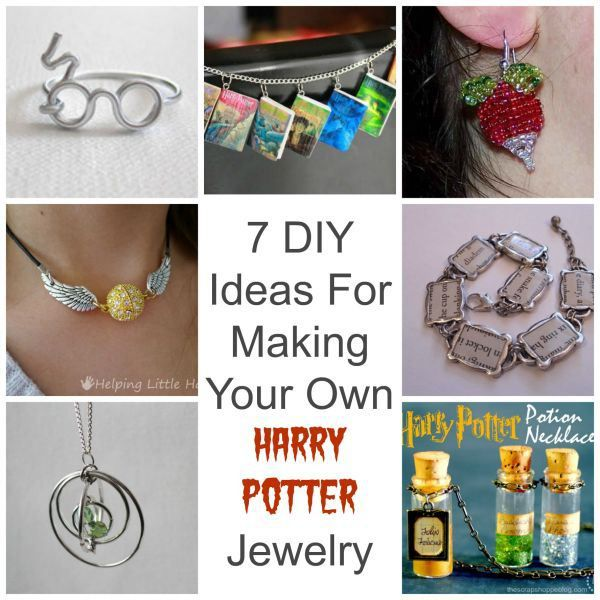 Make Your Own Necklaces And Jewelry At Home: 7 Ideas For Making Your Own Harry Potter Jewelry
