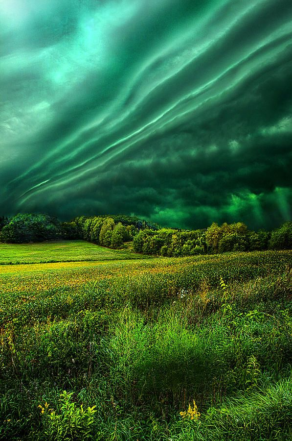 ✯ Storms roll over the landscape of Wisconsin