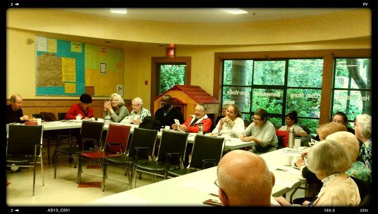 West End Seniors Community Planning Table at Gordon Neighbourhood House.