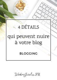 Vous pensiez ces éléments secondaires et pourtant ce sont des détails cruciaux pour votre blog : photos, barre latérale, fautes et ligne éditoriale.