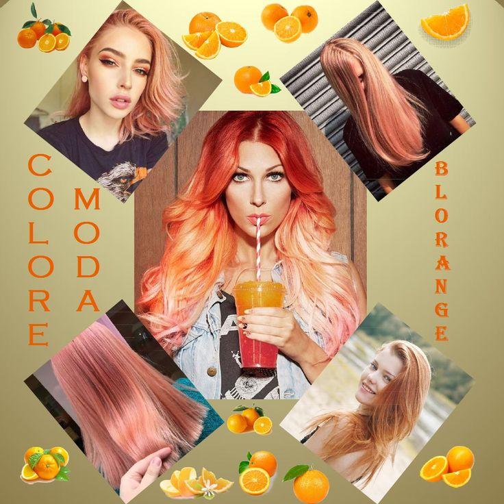 La nuova tendenza capelli arriva dalle passerelle di Dolce&Gabbana, grazie a Pyper America Smith: stiamo parlando del Blorange, un colore tra il biondo e l'arancione con tocchi pastello che sfiorano la tonalità del rosa. E Pyper non è la sola a essersi invaghita del biondo dai riflessi arancioni: da quando l'esplosione arcobaleno si è impossessata delle chiome di mezzo mondo, le varianti sono in continua evoluzione e chissà quali altri colori ci aspettano in questo 2017 :-D