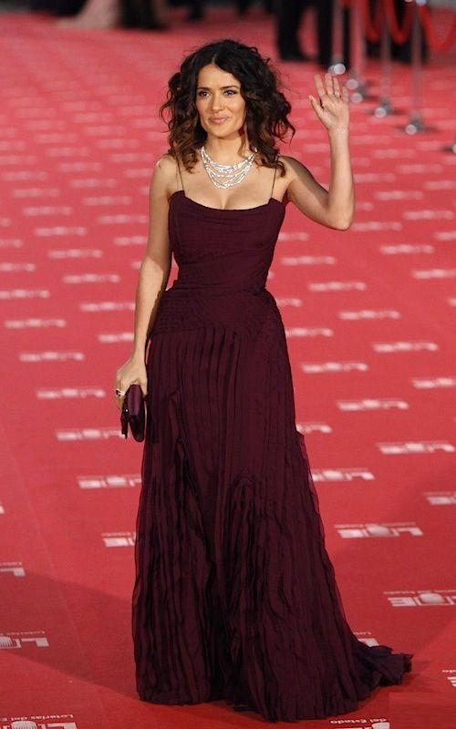 Salma Hayek and Antonio Banderas Meet Up in Madrid For the Goya Awards