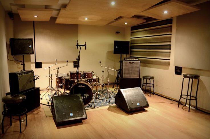 sala de ensayo | santi | Pinterest | Recording studio ...