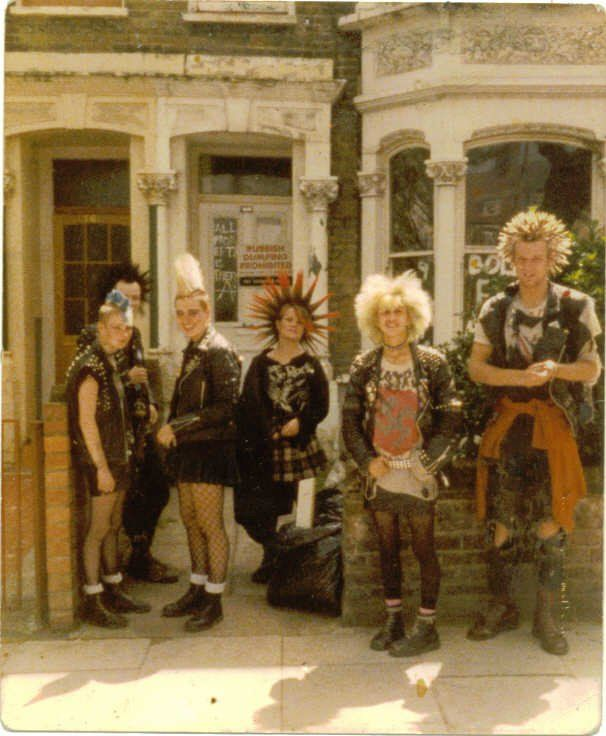 (^o^) London Punks