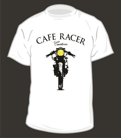 #design #tshirt #caferacer #style #screenprinting #waterbased pre order