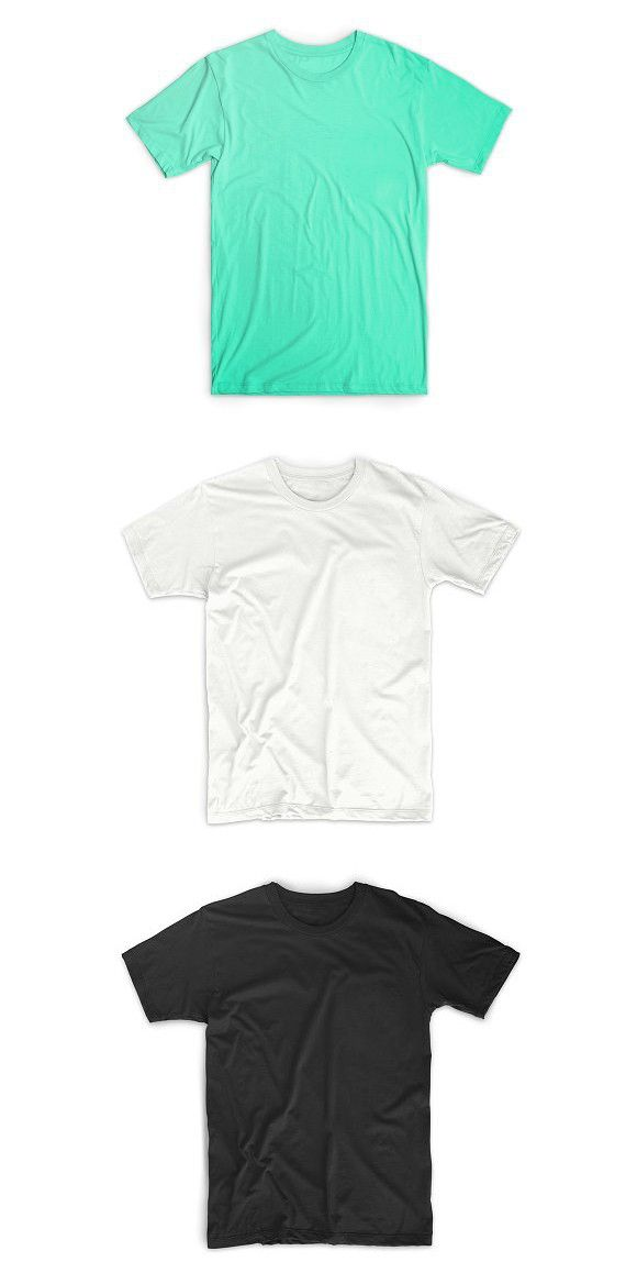 Download Realistic T Shirt Templates In 2021 Shirt Template Shirts Clothing Templates