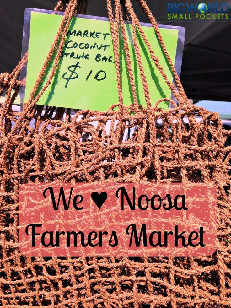 Why we ♥ Noosa Farmers Market for healthy, organic food in Queensland, Australia {Big World Small Pockets}