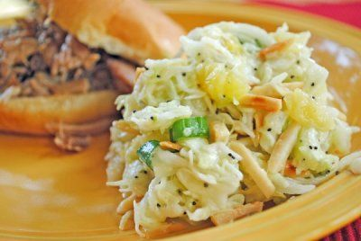 Hawaiian Cole Slaw…and The Case of the Missing Side Dish… | Juanita's Cocina