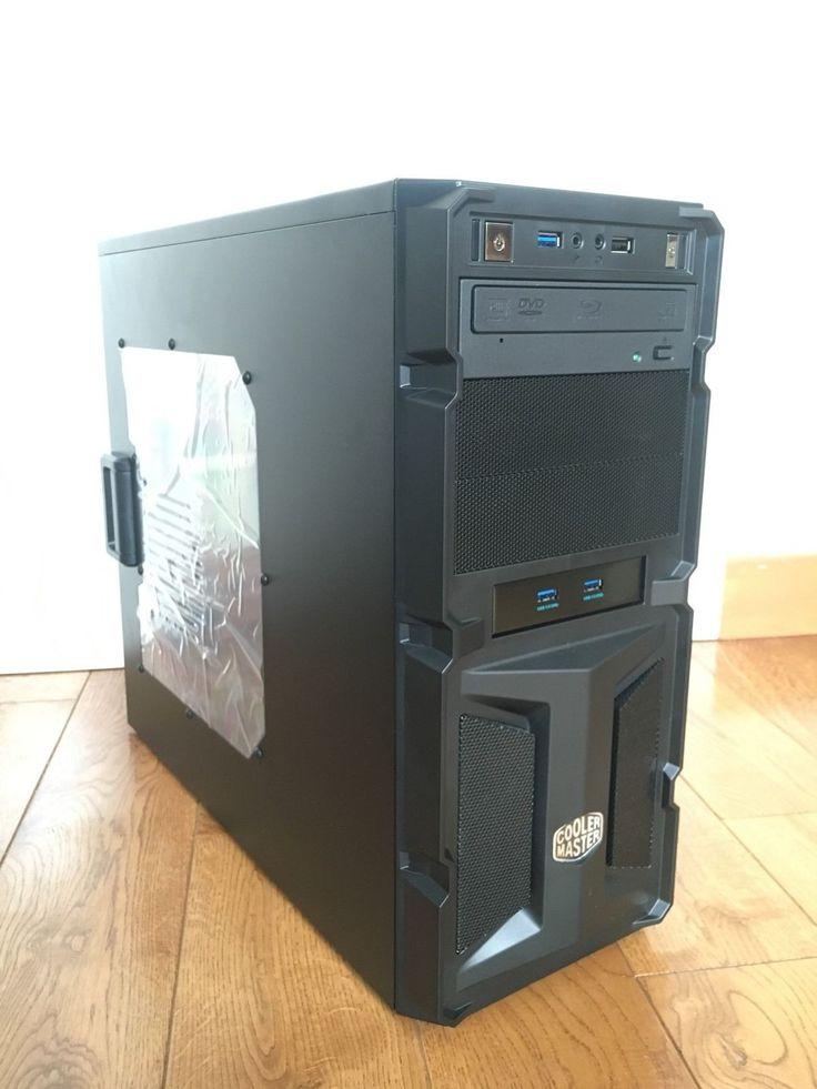 Gaming PC I7 6700k Gtx 1080 8GB GDDR5X 16GB DDR4 120gb Ssd 2tb HDD
