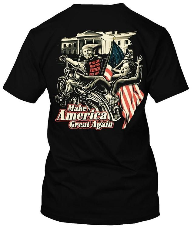 Check out Adult Donald Trump If the bitch fell off Hillary Clinton Vote for Trump T Shirt Made with lots of love! ❤️  http://politishirtsusa.com/products/gildan-fashion-t-shirt-adult-donald-trump-if-the-bitch-fell-off-hillary-clinton-vote-for-trump-t-shirt-man-t-shirts