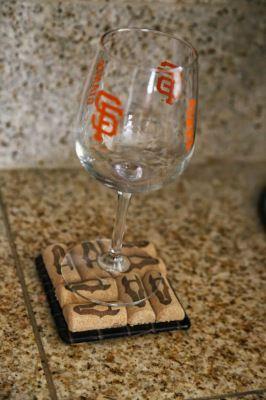 DIY ! Quoi de mieux que le #liège comme dessous de verre !