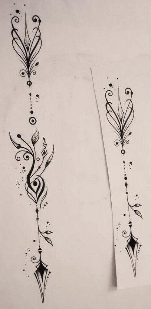 Tatoo arrow