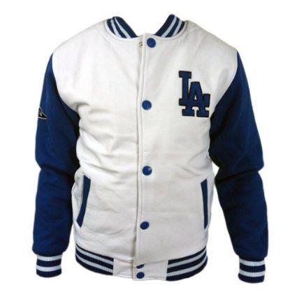 Majestic Letterman Los Angeles Dodgers Jacke Sportjacke Gr S-XXL Baseball MLB