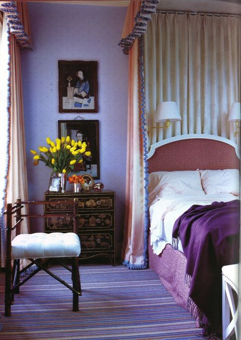 1000 images about purple interiors plum lavender for Beautiful lilac bedrooms