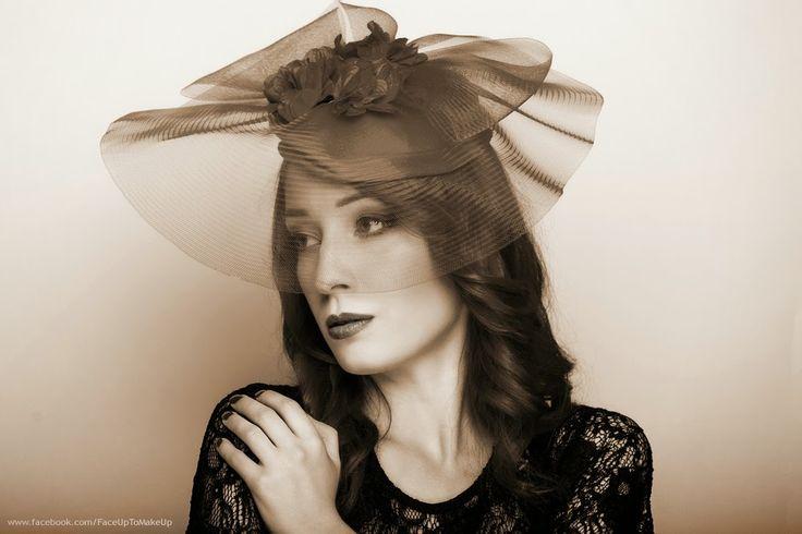 Retro portrait model: Marlleen  make up & photo: Joanna Niedźwiecka