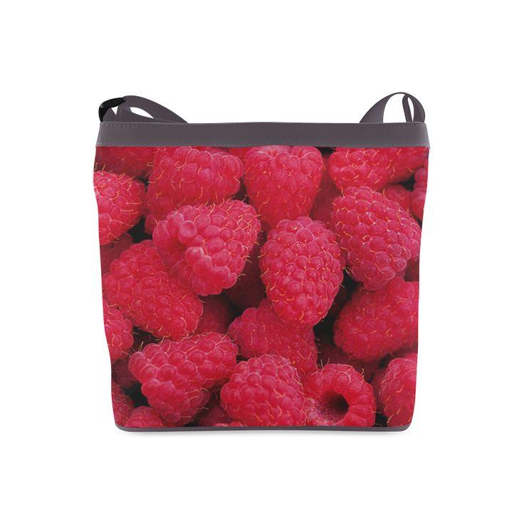 Raspberries Crossbody Bag. FREE Shipping. #artsadd #bags #fruits