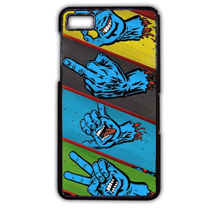 Santa Cruz Skateboard 3 Phonecase Cover Case For Blackberry Q10 Blackberry Z10