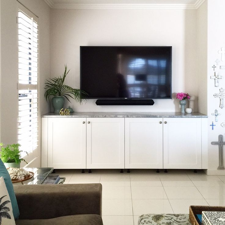 How Much For New Kitchen Cabinets: IKEA SAVEDAL KITCHEN UNIT AS TV CABINET