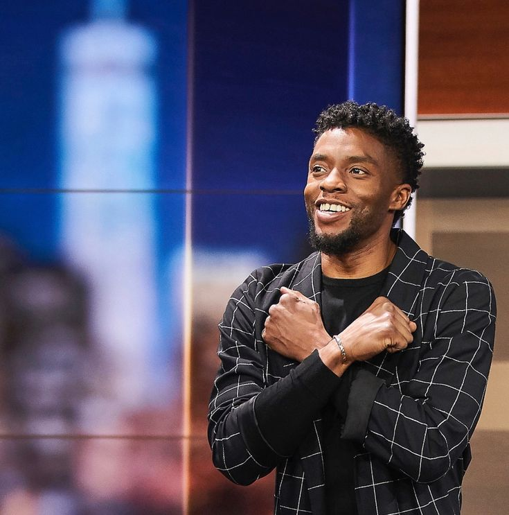There's no one better suited to being the Black Panther. Chadwick Boseman is perfect. He is totally T'Challa.