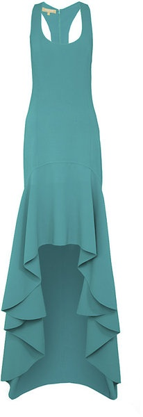 Michael Kors Racer Back Gown....michael, michael, michael....you know just how to do it everytime.