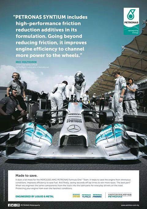....Mercedes Petronas.....