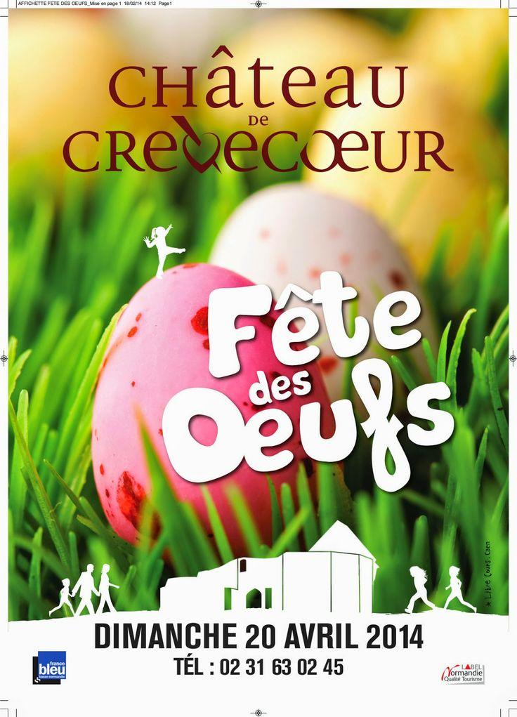 Le Domaine du Martinaa - Gite en Normandie: Fete des oeuf crevecoeur 2014