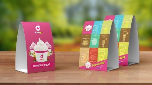 LOVEYo's LITTLE MENU STAND by FUNKTIONAL