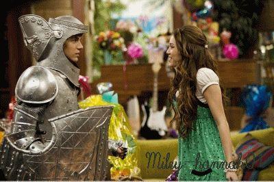 Hannah Montana and Jake