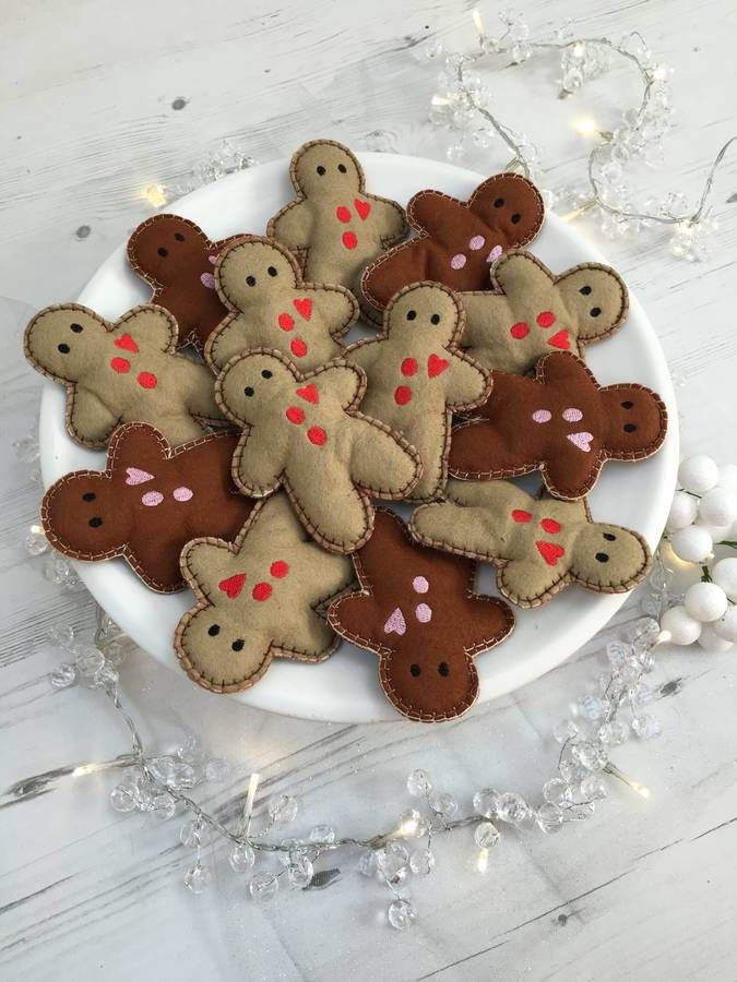Catnip Gingerbread man Cat Toy