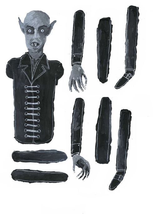 Make Your Own Nosferatu by Jack Felgate, part of a collaborative project with Alex Wells and Pippa Toole