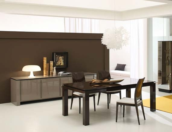 Pretty simple and classy dining room!: Decor Ideas, Dining Room Furniture, Dining Table, Dining Room Tables, Minimalist Dining Room, Contemporary Dining Rooms, Minimalist Interior