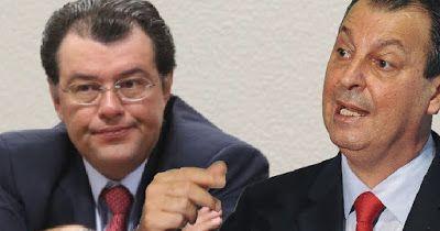 Falamazônia: Eduardo Braga e Omar Aziz brigam pela Eletronorte....