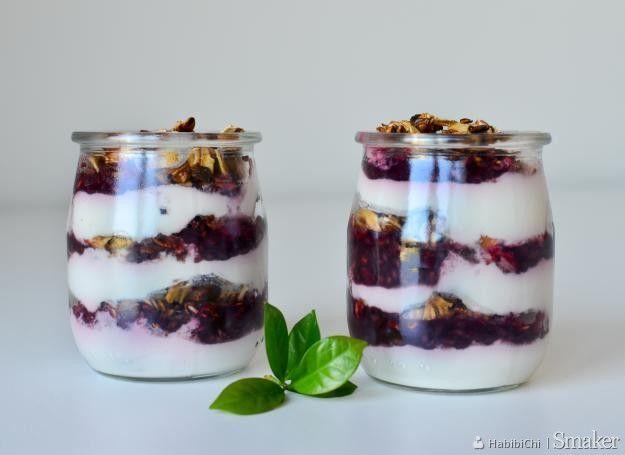 Deserki jogurtowo malinowe
