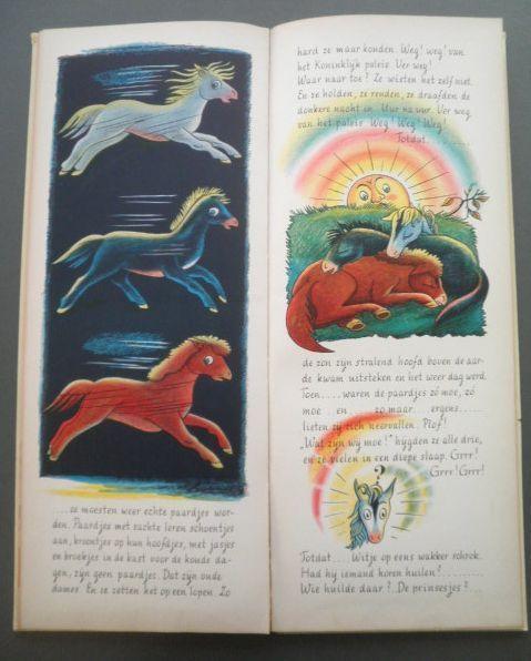 Piet Worm - De drie paardjes - 2 delen - 1959/1961