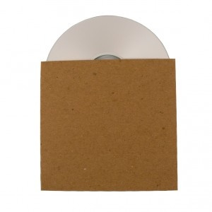 Recycled CD sleeve $14.99/case of 50
