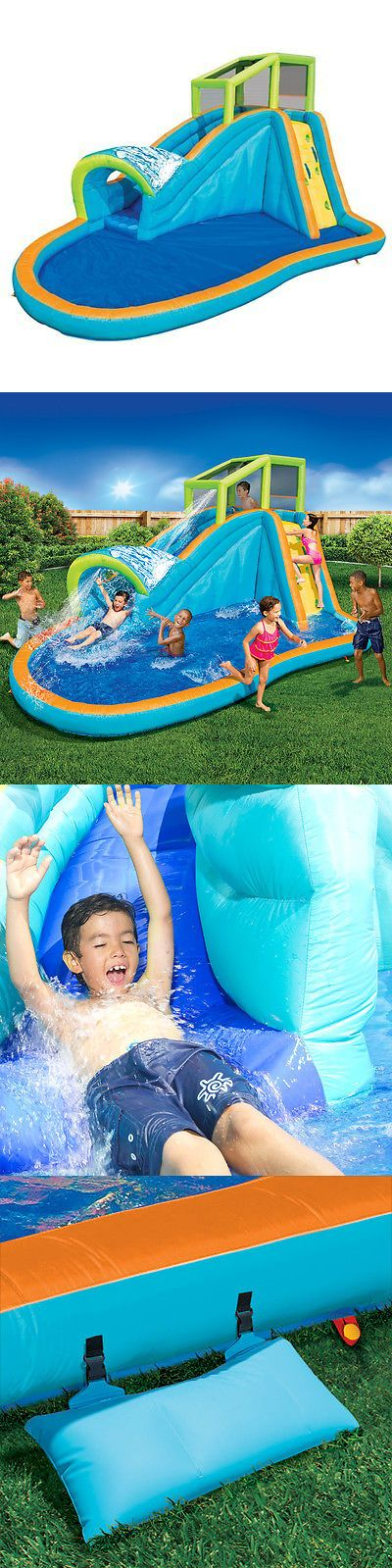 Water Slides 145992: Banzai Inflatable Pipeline Water Slide And Splash Pool Water Park -> BUY IT NOW ONLY: $389.99 on eBay!