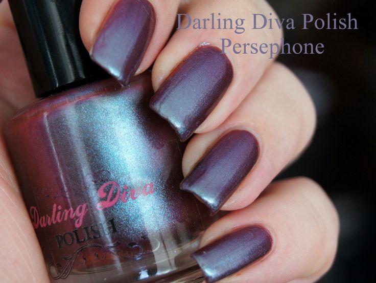 Darling Diva Persephone.  One mani.  Genvieve